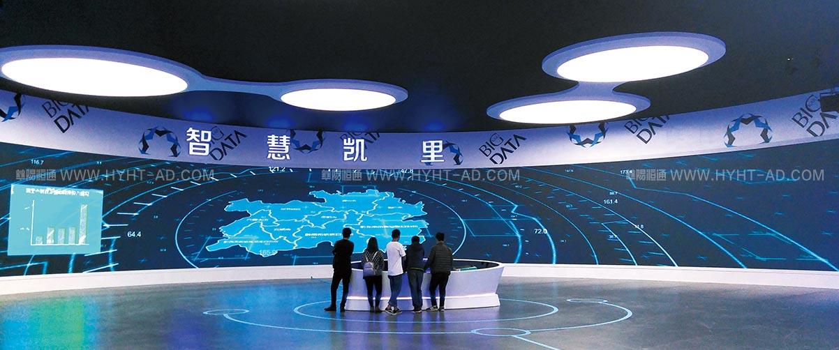 智慧城市大数据展示中心
